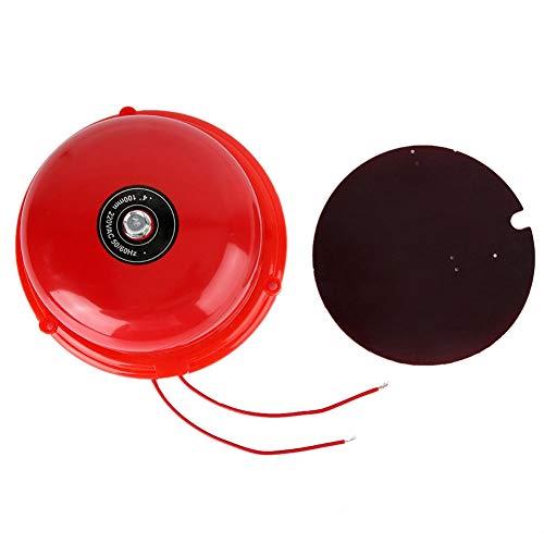 4 zoll Metall Brandschutz Interner Schlag Typ Elektrische Glocke Sicherheitsglocke Feueralarm 100db(12V)