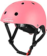 KAMUGO Kids Adjustable Helmet, Suitable for Toddler Kids Ages 3-8 Boys Girls, Multi-Sport Safety Cycling Skating Scooter Helmet