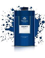 Yardley London Equity Perfumed Talcum Body Powder, 150g