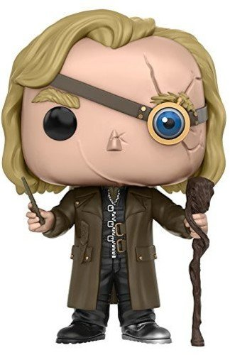 Funko Mad-Eye Moody Figura de Vinilo, coleccion de Pop, seria Harry Potter, Multicolor, Talla unica (10990)