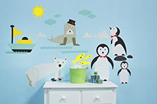Oopsy Daisy 54 by 30-Inch Peel and Place Just Chillin' Medium by Carmen Mok, Medium