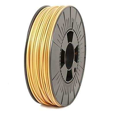 ICE Filaments ICEFIL3PLA137 PLA filament, 2.85mm, 0.75 kg, Glamorous Gold