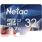 Netac microsd カード 32GB microSDXC UHS-I 読取り最大90MB/s 600X U1 C10 フルHD ビデオV10 A1 FAT32 高速フラッシュTFカード Nintendo Switch対応(ラップトップ/Bluetoothスピーカー/タブレット/スマートフォン/カメラ用)P500 【Amazon.co.jp限定】