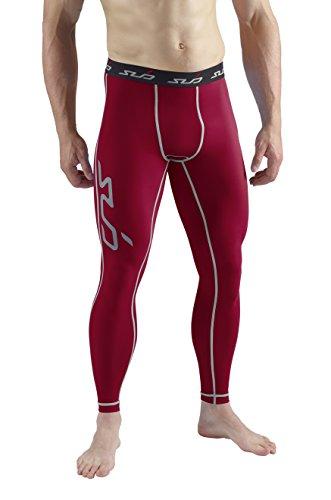 Sub Sports, Pantaloni a Compressione Uomo Biancheria...
