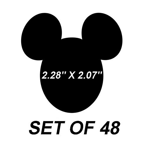 Etiquetas engomadas de la etiqueta de Mickey Mouse Etiquetas de la piz