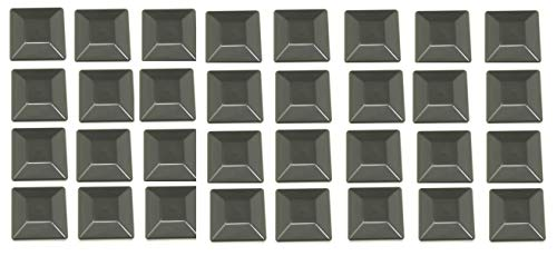 Plastic New Fence Post Black Caps 4X4 (3 5/8') Pressure Treated Wood Made in USA MULITPACK Wholesale Bulk Pricing (32)