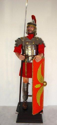 Römischer Legionär Rüstung Römer tragbar Lebensgroß Höhe225cm