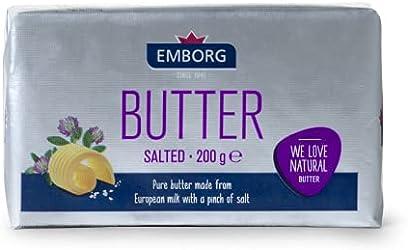 Emborg Salted Butter, 200g - Chilled