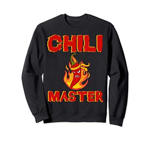Würze Jalapeno Chili Master Pepperoni Hot Scoville Chilli Sweatshirt