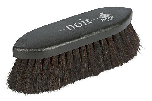 Kerbl 328273 Noir Rosshaar-Fellbürste, Original Haas, klein