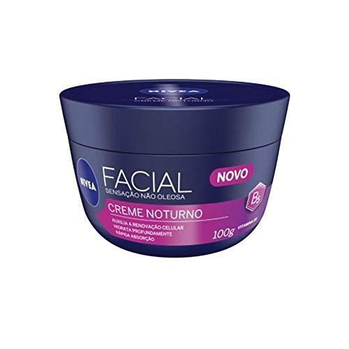 Creme Facial Noturno Nivea 100G, Nivea