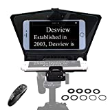 【Desview Official】 Desview-T2-Teleprompter for Smartphone Tablet DSLR...