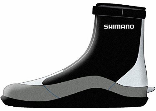 SHIMANO Flats Wading Boot Fishing Gear, Black, 9