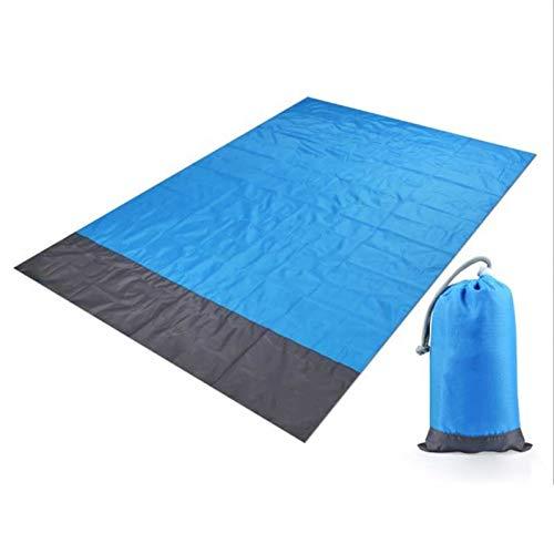 YLIKD Tapis de Camping 2 M * 2 M Couverture de Plage étanche Tapis de Pique-Nique Portable en Plein air Camping Tapis de Sol Tapis de Camping en Plein air Couverture de Tapis de Pique-Nique
