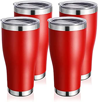 4-Pack Donmey Stainless Steel Insulated Travel Mug