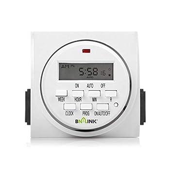 digital outlet timer indoor