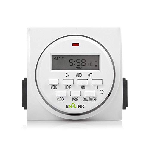 BN-LINK 7 Day Heavy Duty Digital Programmable Timer