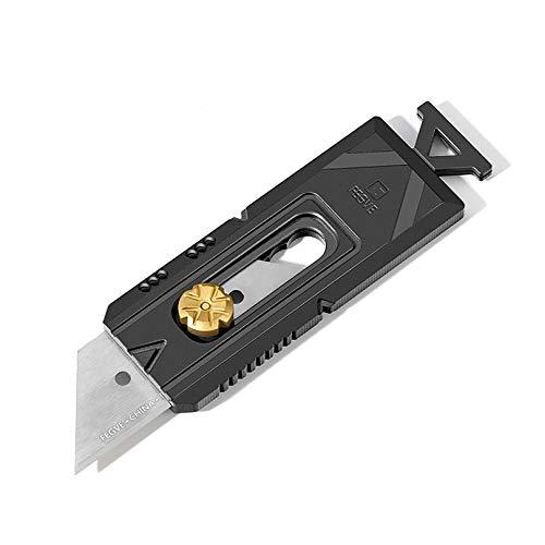 TISUR チタン カッターナイフ 実用アートカッター タングステン鋼ブレード付き