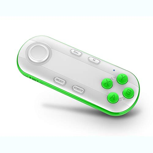 Prämie Smart Wireless Bluetooth Gamepad-Controller 3D-VR, Virtual Reality Brille Joystick Remotes kompatibel mit Android/IOS (weiß) (Color : White)