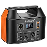 Portable Power Station, TotGuard 800W Portable Backup Lithium Battery 555Wh Portable Solar Generator with 2 110V(Peak 1000W) Pure Sine Wave AC Outlets for Outdoor Road Trip Camping Emergency Adventure