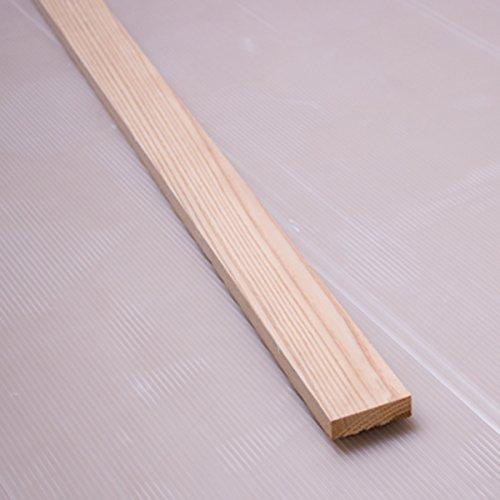 川島材木店 国産杉 胴縁 胴縁板 板 4.5x1.3x91cm