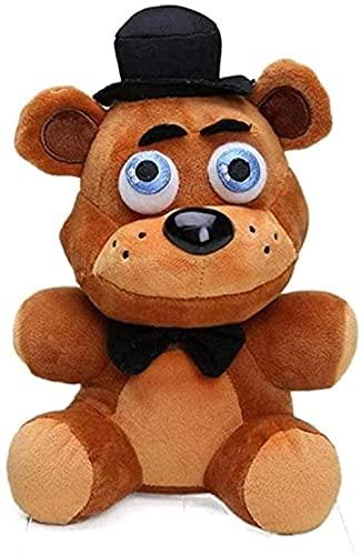NC518 Peluches 18cm Cinco Noches en Lovely Plush Doll - Viejo Oso Pardo Peluche de Peluche Juguetes para niños Regalos para niños