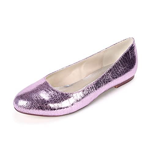 Zapatos de Novia para Mujer, Moda Verano Zapatos de Boda Acogedor Material...