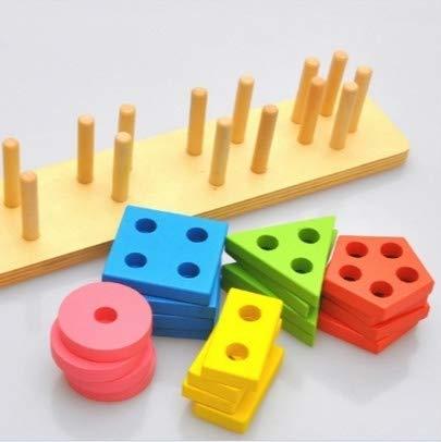 MYHH Frühe Bildung Lernspielzeug Geometrische Form.
