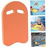 KAKAF Tabla de natación para niños y adultos, ayuda a formación, ideal para ejercicios de natación y entrenamiento y acuarios deportivos (naranja)