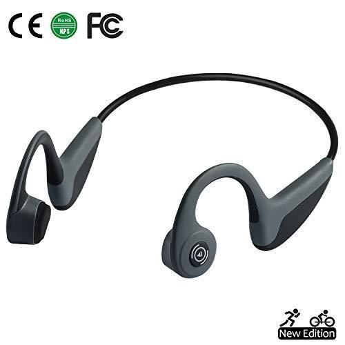 Bone Conduction Headphones Bluetooth 5.0 Open-Ear Wireless Sports Headsets