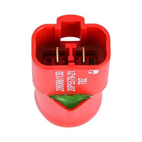 Sensor de interruptor de presión, código de accesorios de vehículos de construcción hechos de accesorios de excavadora de metal (rojo)