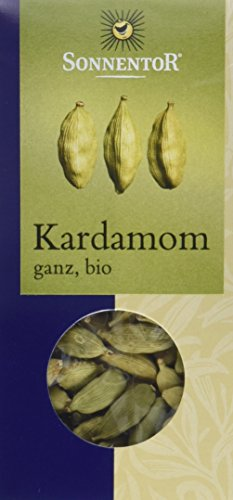 Sonnentor Kardamom ganz, 1er Pack (1 x 30 g) - Bio
