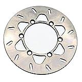Disco Freno,Frenos De Disco Uso apto para KAWASAKI KDX 200 E5 KDX200 1993-1999 KLX 300 R KLX300 1997-2007 650 KLX650 2001-up Motorcycle Frontal Frontal Rotor de disco de freno trasero (Color : Rear)