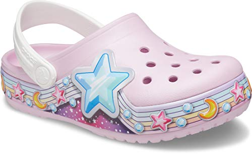 Crocs Fun Lab Star Band Clog, Unisex Kids Clogs, Star Print, C12 UK (29-30 EU)