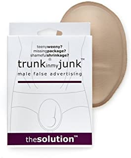 Trunk in My Junk: Male False Advertising, One Size, Beige - Great Gag Gift