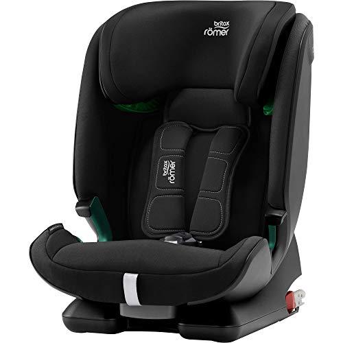 Britax Römer Kindersitz 15 Monate - 12 Jahre | 76 - 150 cm | ADVANSAFIX M i-SIZE Autositz Isofix | Cosmos Black