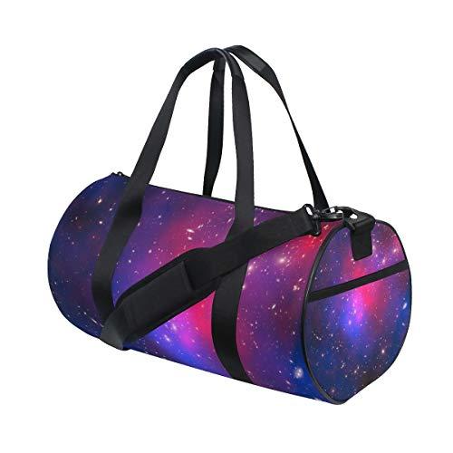 LUPINZ Sporttasche Galaxy Pandora Print Muster Polyester Sporttasche Gym Bag Fitness Sport Gear Gepäck Tasche für Damen und Herren 45,7 x 22,9 x 24,1 cm