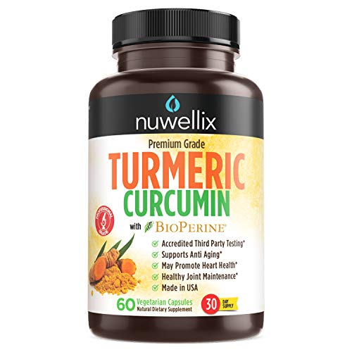 (80% OFF Coupon) Turmeric Curcumin with Bioperine – Natural Anti Inflammatory Supplement $6.60