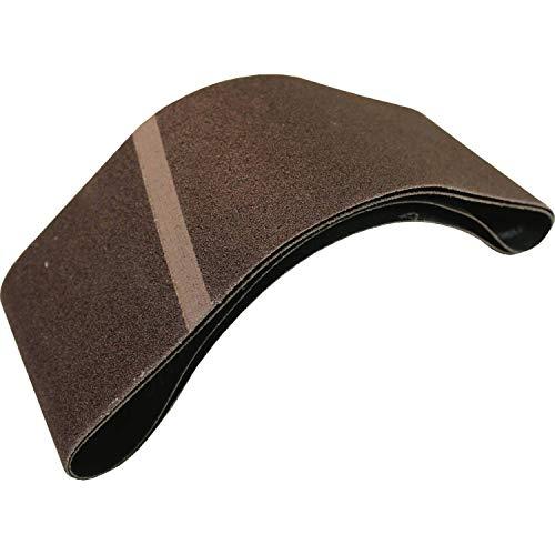 Makita 794551-A-2 Cinturón abrasivo de 3' x 18', grano 80, 2/paquete