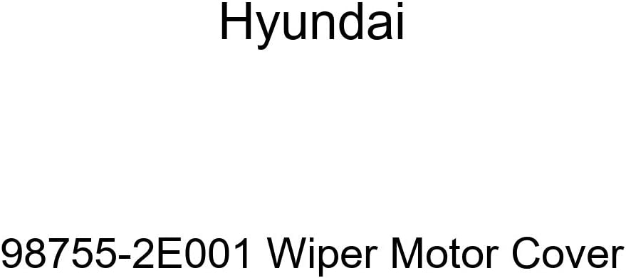 Genuine 70% OFF Outlet Hyundai 98755-2E001 Complete Free Shipping Wiper Motor Cover