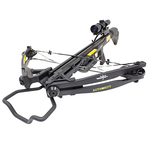 Southland Archery Supply SAS Authority 175lbs Compound Crossbow 4x32 Scope Package