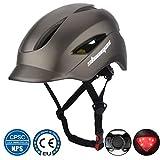 Shinmax Casque de Vélo,Certifié CE,avec Visière de Protection Magnétique Amovible Casque...