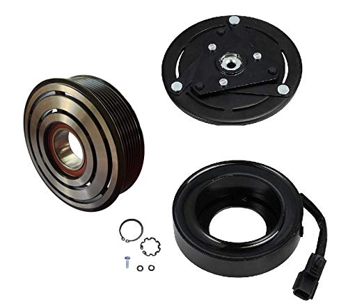 AC Compressor Clutch Kit COIL PULLEY PLATE Fits 2003-2007 Nissan Murano 3.5 L