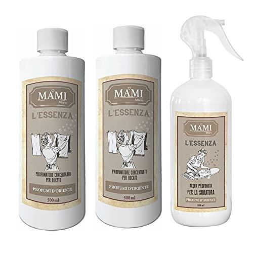 Mami Milano – 2 esencias de 500 ml + agua para planchar – Perfumes de Oriente
