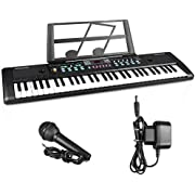 Digital Music Piano Keyboard 61 Key,ZJTL 61-key Electronic Piano,Portable Electronic Musical Instrument Multi-function-can Cultivate Children's Music Cells,Birthday Christmas Festival Gift for Kids
