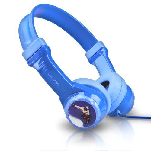 JLab Audio JBuddies Kids- Volume Limiting Headphones, Guaranteed for Life - Blue