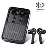 HolyHigh Bluetooth Kopfhörer 5.0 Kabellose in Ear Sport Ohrhörer mit 5000mAh Powerbank Kabellose...