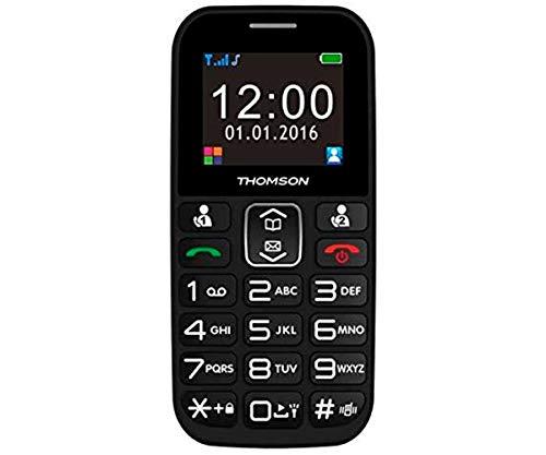 THOMSON 3527570067976 TELEFONO SEREA49 1.8' Bluetooth Negro