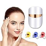 LED Gesichtsmaske, Anti-Akne Lichttherapie Maske, Licht...