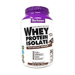 Bluebonnet Nutrition 100% Natural Whey Protein Isolate Powder